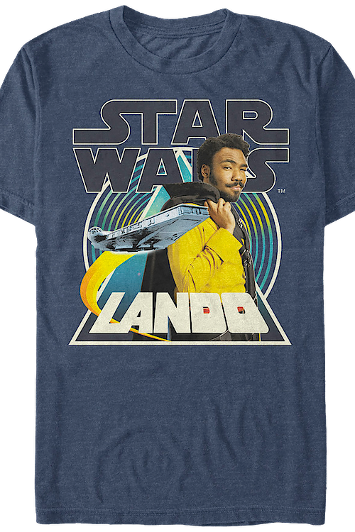 Lando Collage Solo Star Wars T-Shirt