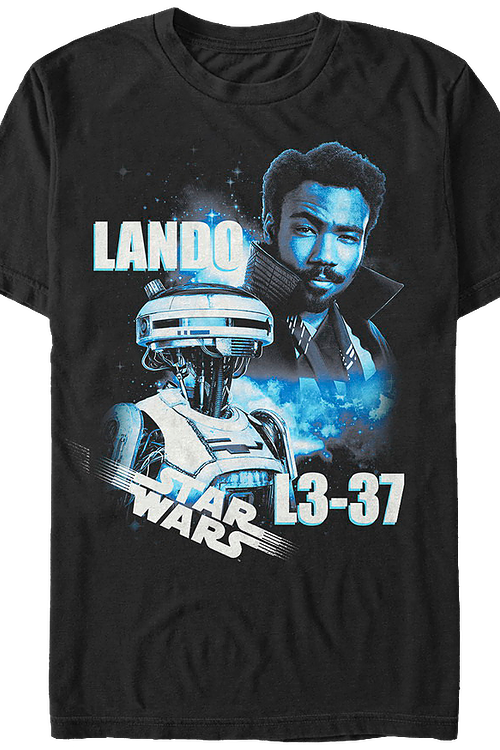 Lando and L3-37 Solo Star Wars T-Shirt