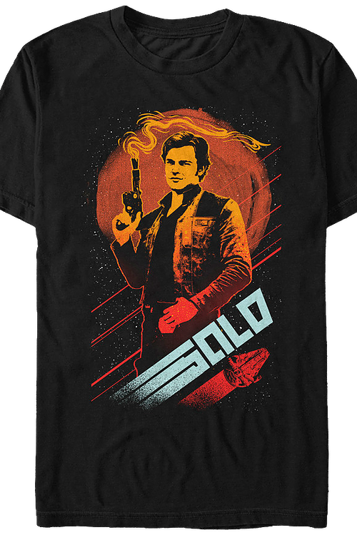 Smoking Gun Solo Star Wars T-Shirt