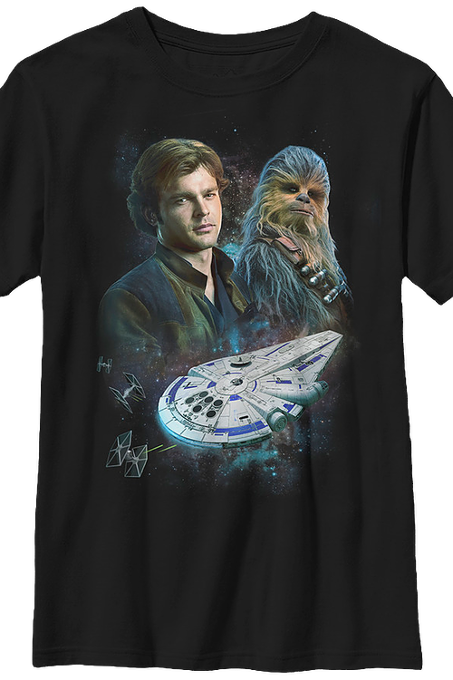Han and Chewie Solo Star Wars T-Shirt