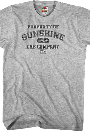Sunshine Cab Taxi T-Shirt