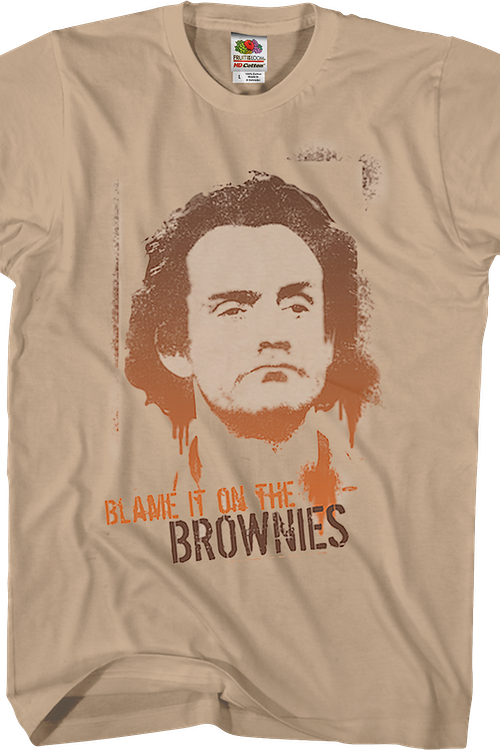 Blame It On The Brownies Taxi T-Shirt