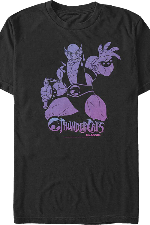 Panthro Cool Colors ThunderCats T-Shirt
