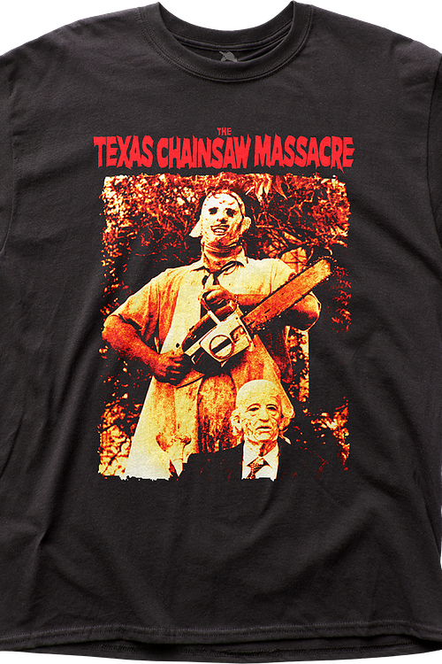 Leatherface and Grandpa Texas Chainsaw Massacre T-Shirt