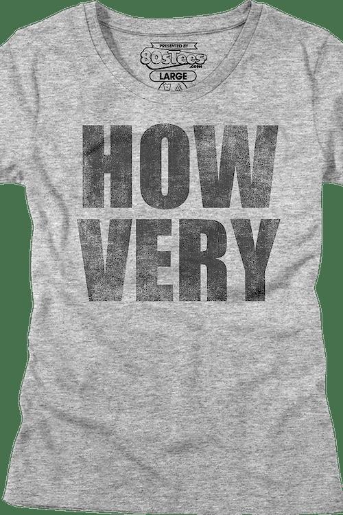 Womens How Very Heathers Shirt