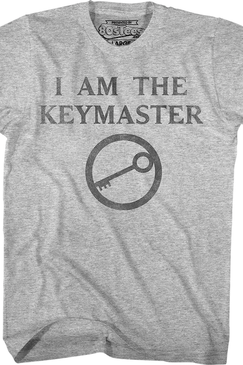 I Am The Keymaster Ghostbusters T-Shirt