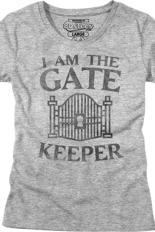 Womens I Am The Gatekeeper Ghostbusters Shirt