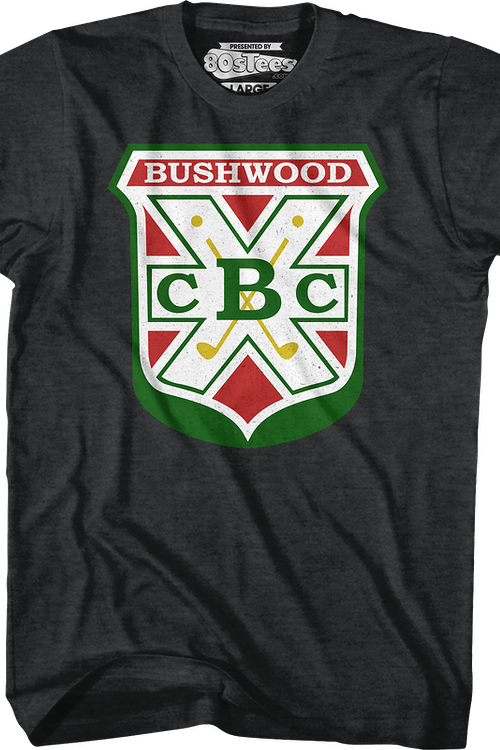 Bushwood Country Club Logo Caddyshack T-Shirt