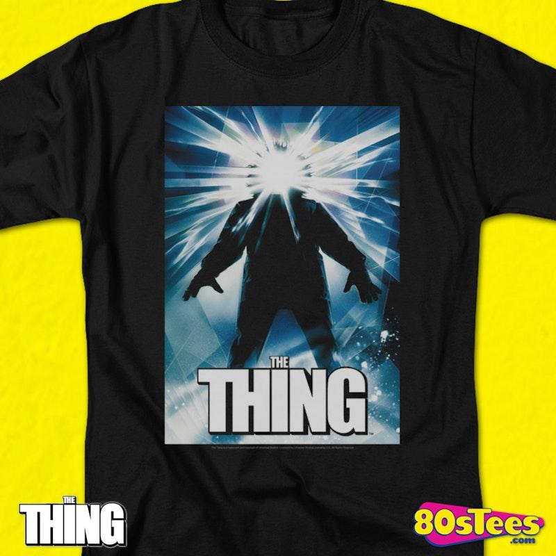 e9319794 John Carpenter's The Thing T-Shirt: 80s Movies The Thing T-shirt