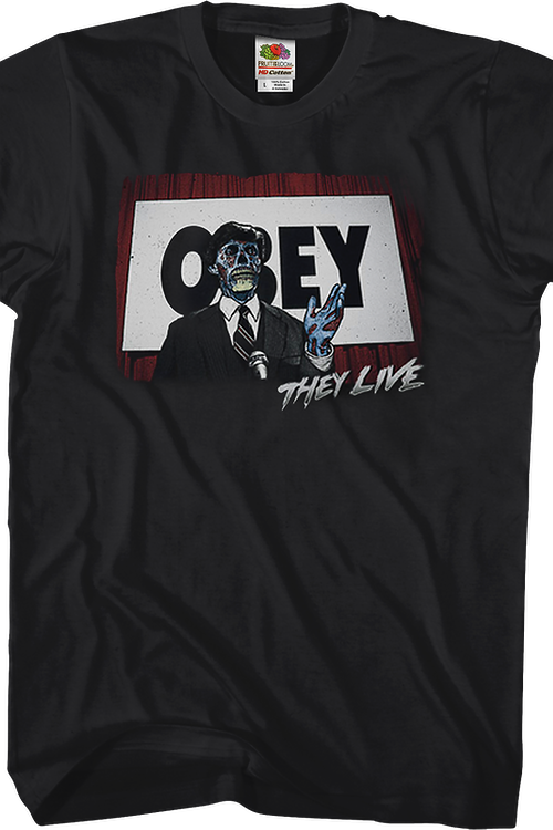 OBEY They Live Shirt