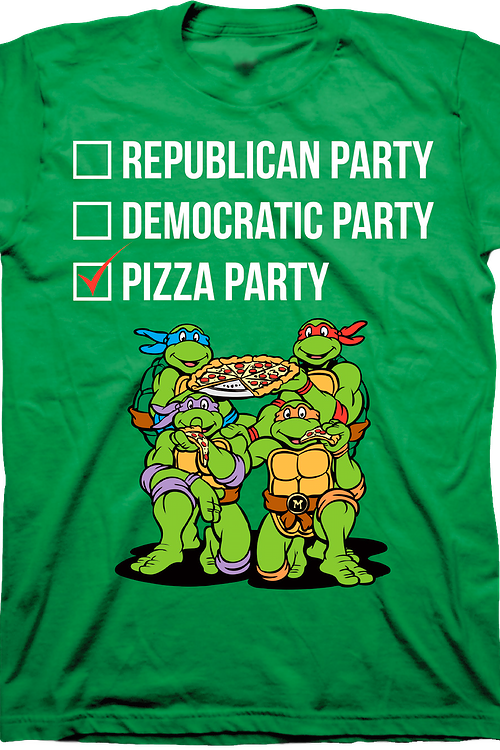 Vote Pizza Party Shirt