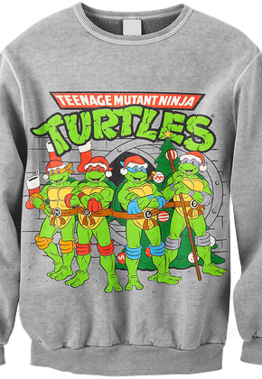Ninja Turtles TMNT Christmas Sweatshirt