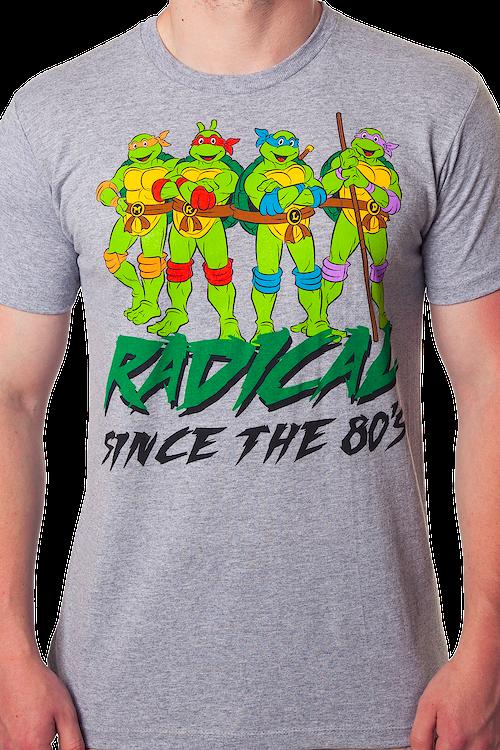 ff90d322c Radical Since the 80s Ninja Turtle T-Shirt: 80s Cartoons TMNT Shirt