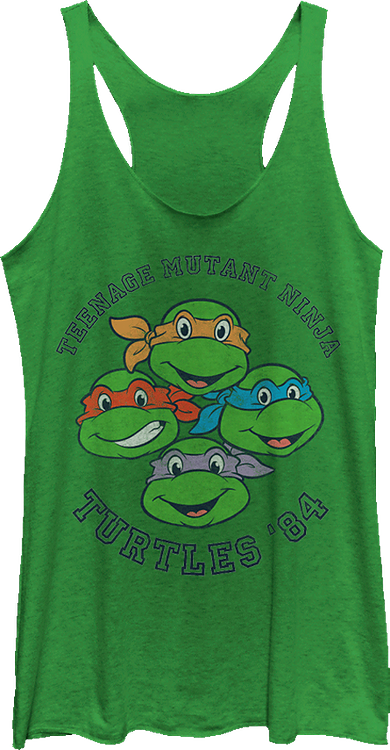 Ninja Turtles 84 Tank Top