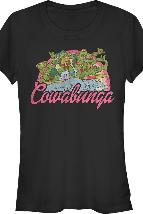 Junior Cowabunga Teenage Mutant Ninja Turtles Shirt
