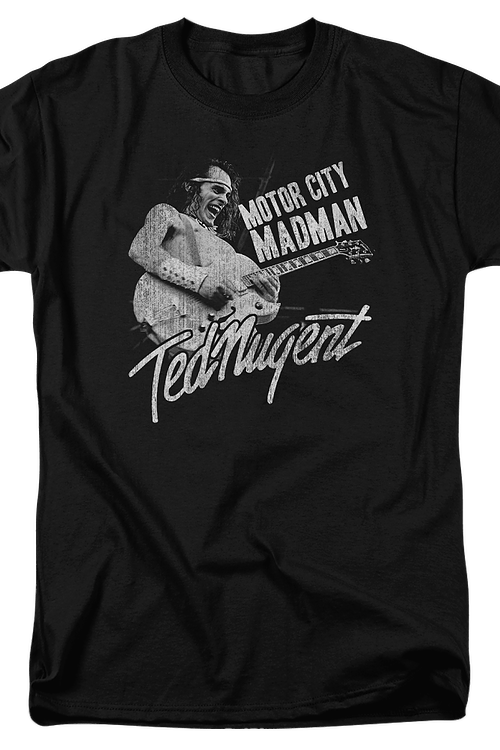 Motor City Madman Ted Nugent T-Shirt