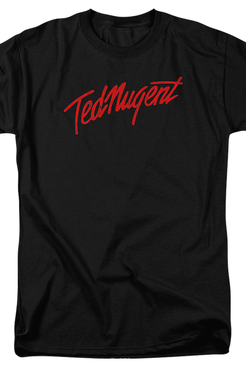 Distressed Logo Ted Nugent T-Shirt
