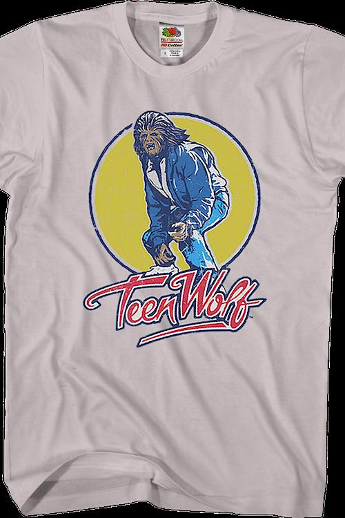 9f60b21207 Van Surfing Teen Wolf T-Shirt  Teen Wolf Mens T-Shirt