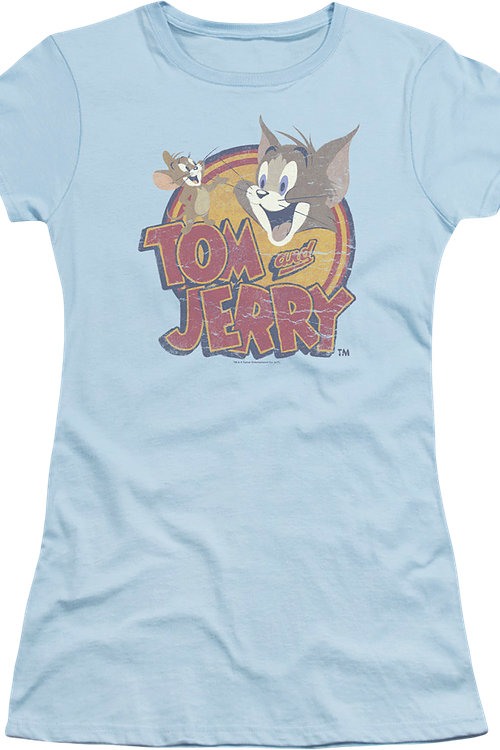 Junior Logo Tom and Jerry Shirt