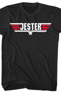 Call Name Jester Top Gun T-Shirt