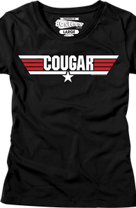 Jr Call Name Cougar Top Gun T-Shirt
