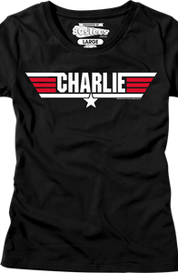 Jr Call Name Charlie Top Gun T-Shirt