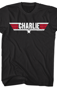 Call Name Charlie Top Gun T-Shirt