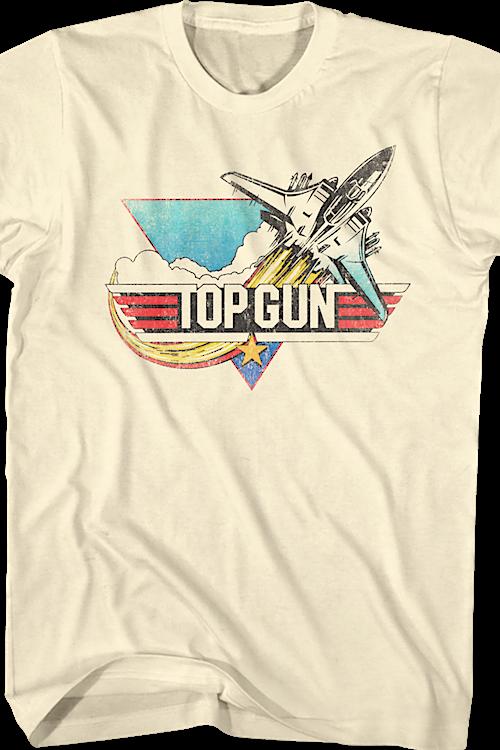 fea9cc05a3e354 Vintage Logo Top Gun Shirt  80s Movies Top Gun T-shirt