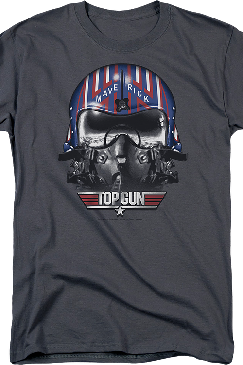 Maverick Helmet Top Gun T-Shirt