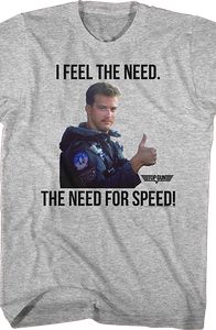 Top Gun Need For Speed Goose T-Shirt