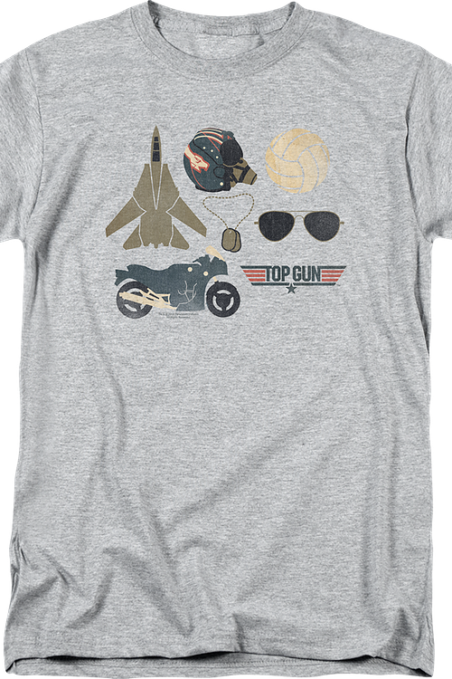 Maverick Necessities Top Gun T-Shirt