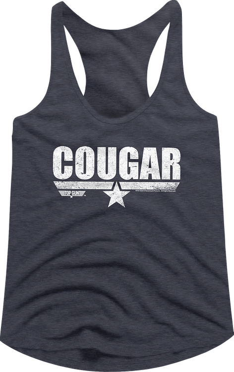 Cougar Top Gun Racerback Tank Top