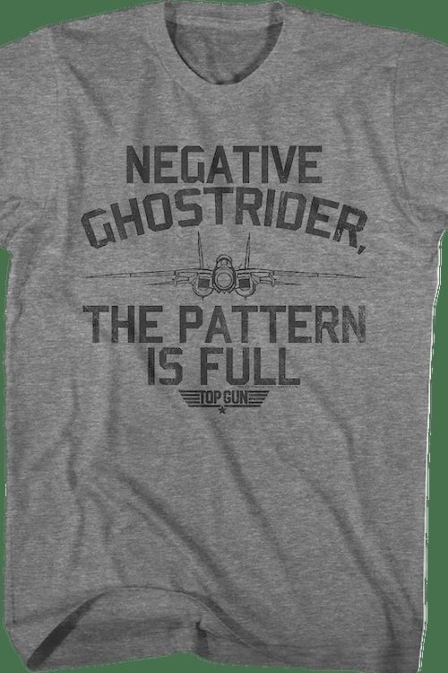 Pattern Is Full Top Gun T-Shirt
