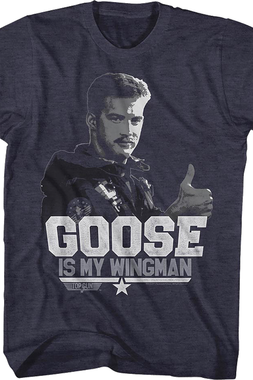 Goose Is My Wingman Top Gun T-Shirt