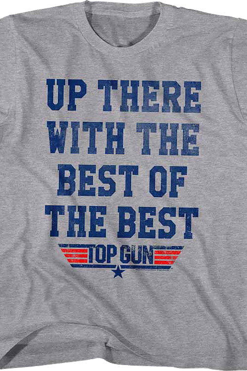 Youth The Best of the Best Top Gun Shirt