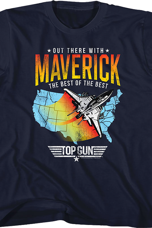 Youth Out There With Maverick Top Gun Shirt