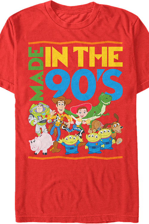 huge discount d445d 4e5a6 Toy Story Made in the 90s T-Shirt