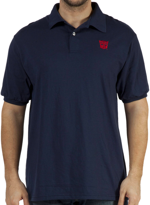 Transformers Autobot Polo Shirt