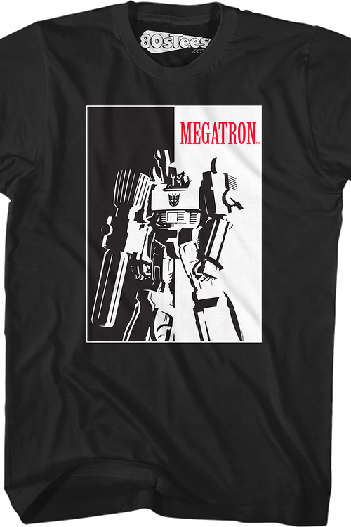 Scarface Megatron Transformers T-Shirt
