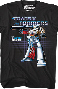 Box Art Megatron Shirt