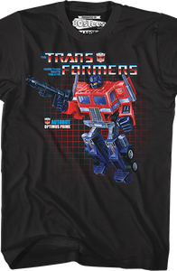 Box Art Optimus Prime Shirt