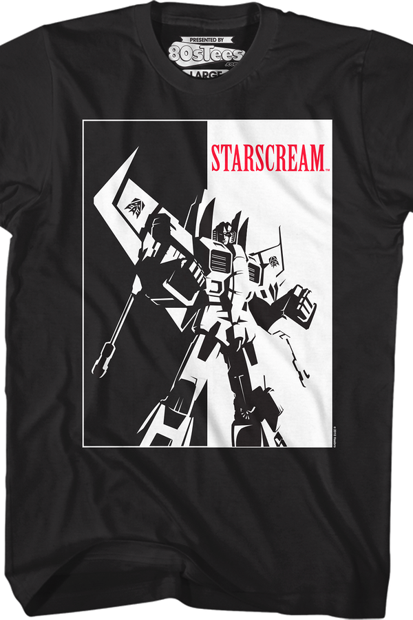 Scarface Starscream Shirt