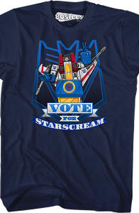 Transformers Vote For Starscream T-Shirt