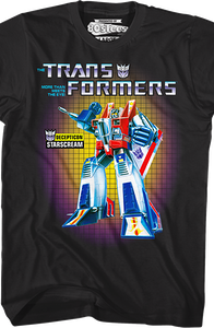 Transformers Box Art Starscream T-Shirt