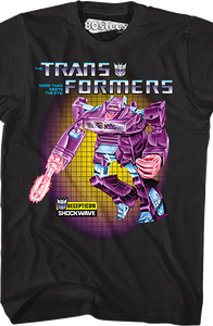 Transformers Box Art Shockwave T-Shirt