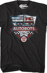 Roll Out 1984 Transformers T-Shirt