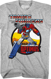 Optimus Prime Father's Day Transformers T-Shirt
