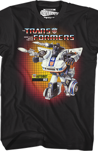 Jazz Box Art Transformers T-Shirt