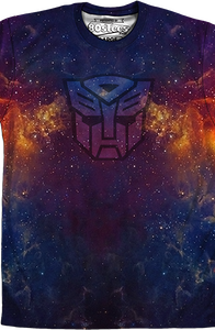 Sublimation Galaxy Autobot Logo Transformers Shirt
