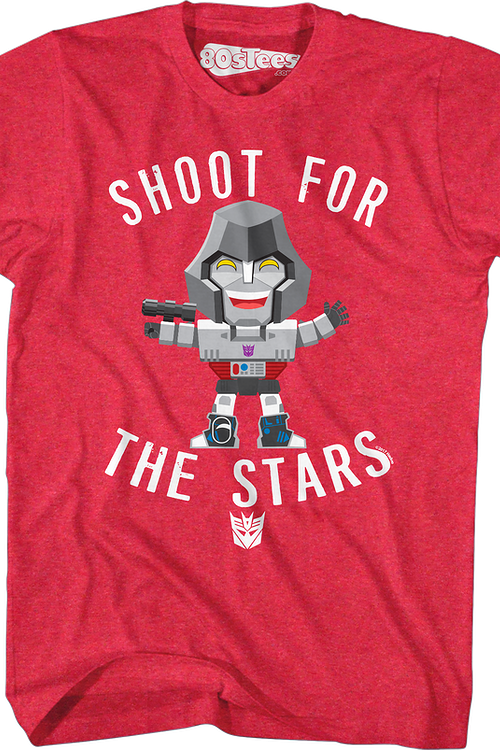 Megatron Shoot For The Stars Transformers T-Shirt